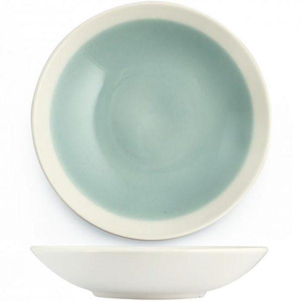 Piatto Azzurro Fondo Soleil
