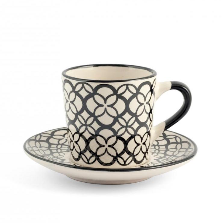 Set 6 tazzine caff vhera h h pezzo singolo camilla for Tazzine caffe moderne