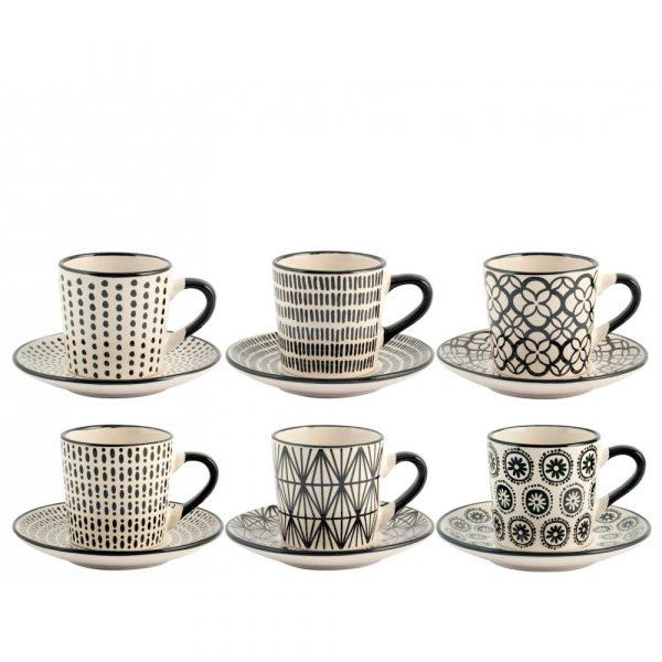 Set 12 tazzine caffè Vhera