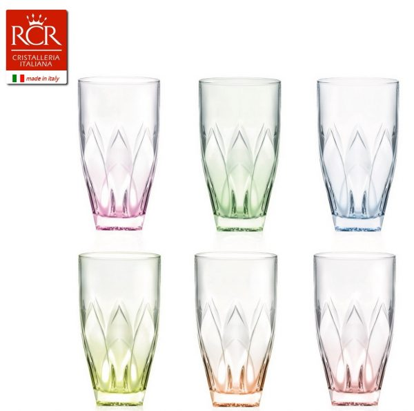 Bicchieri Tumblers Ninphea Colours
