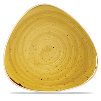 Stonecast Churchill - Piatto triangolare piano