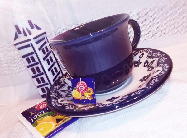 Flora Tazze da Tè con piattino Home Camilla Maison