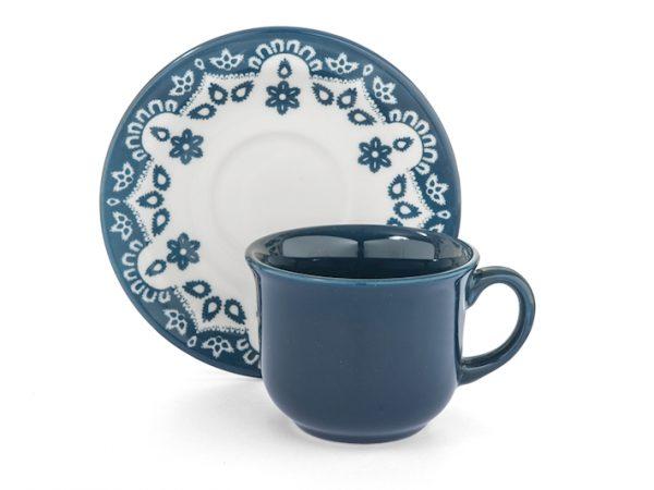 Flora Tazze da té con piattino Home Camilla Maison