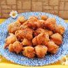 Frittelle con Salame e Pecorino