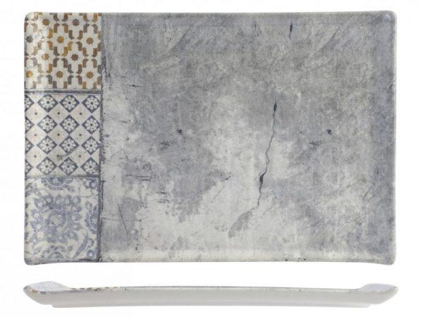 Piatto Rettangolare Malaga 30x20 cm
