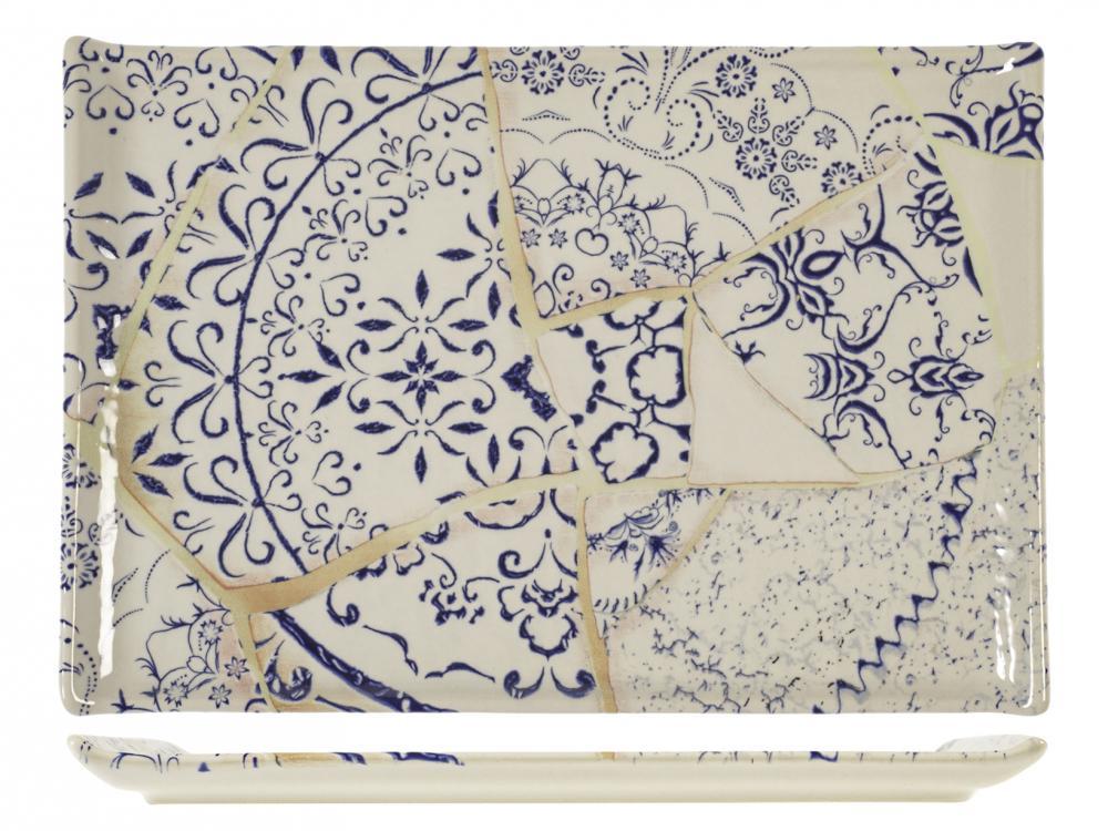 Piatto Rettangolare Alyssa 30x20 cm