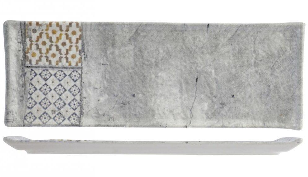 Piatto Rettangolare Malaga 33x12 cm
