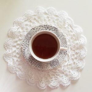 Tazze Te con piattino H&H Coupe Kyoto Camilla Maison