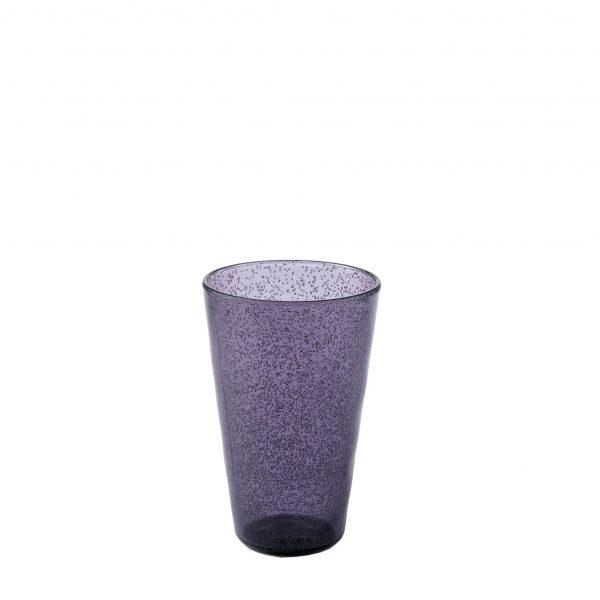 Drink Glass Bicchiere viola in metacrilato Memento Synth Camilla.maison