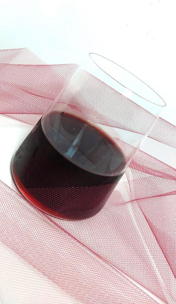 Bicchiere Power 51 cl bomboniera in vetro Camilla Maison