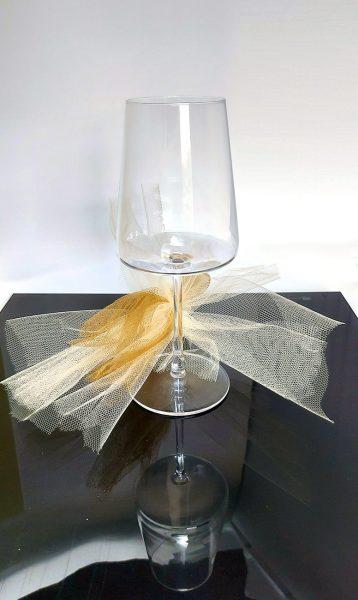 Calice Power 40 cl vino bianco Camilla Maison idea regalo personalizzabile
