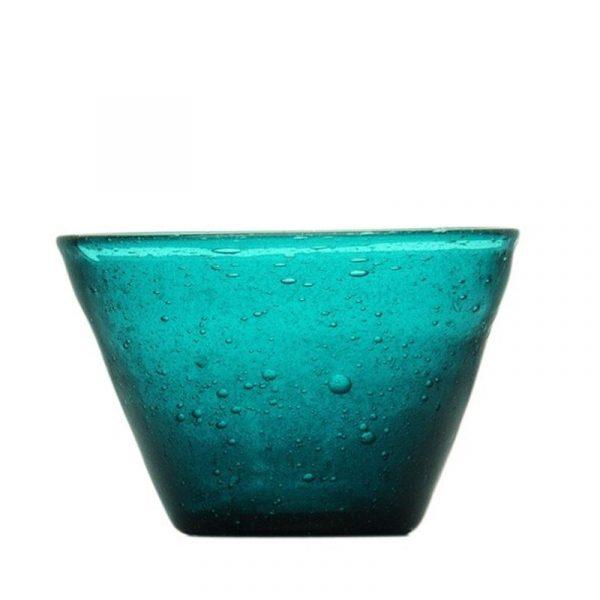 Small Bowl Petrol Memento Original Camilla.maison bombonierao vetro