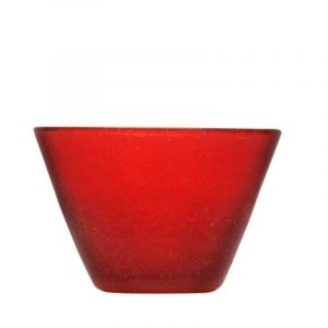 Small Bowl Red Memento Original Camilla.maison idee regalo vetro