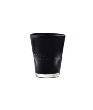 Bicchiere Acqua Nero