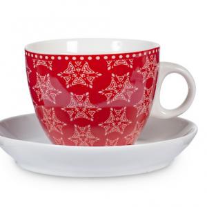 tazza tè grace rosso 2