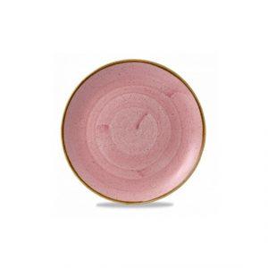 churchill-rosa-puntinato-piatto-piano-cm26--12-