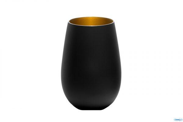 Bicchiere Nero Oro