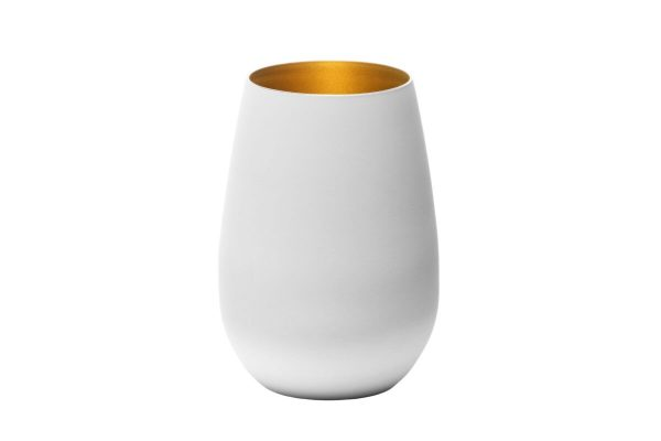 Bicchiere Bianco Oro
