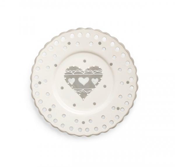 Piatto Forato in Ceramica 20 cm